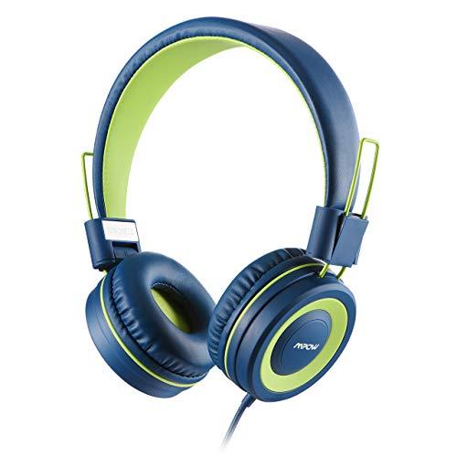 Mpow Cuffie per bambini con limitatore di volume di 91dB e protezione per l'udito