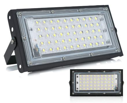 Proiettore LED 50W Impermeabile 4.2€
