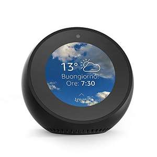 Amazon Echo Spot - Sveglia intelligente con Alexa