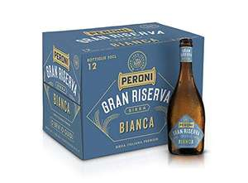 Birra Peroni Gran Riserva Bianca - 12 Bottiglie x 50 cl (6 litri)