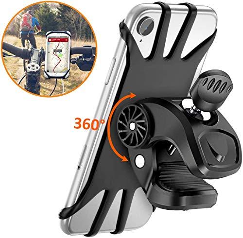 Vobon Supporto Bici Smartphone, Porta Cellulare Bici 360°