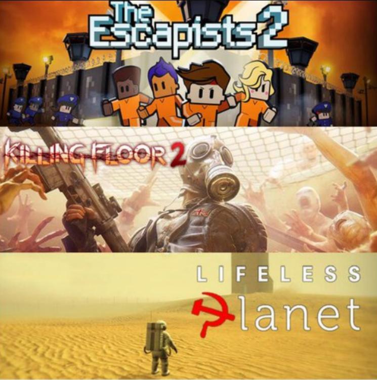 Epic Games - The escapist 2 + Killing Floor2 + Lifless Planet GRATIS PC