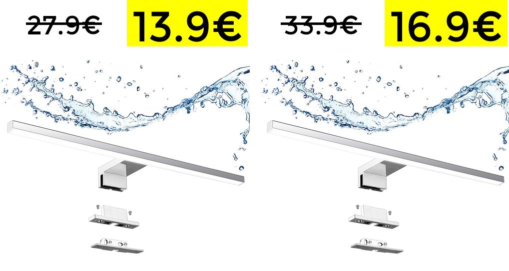 Lampade da bagno 40cm e 60cm 13.9€