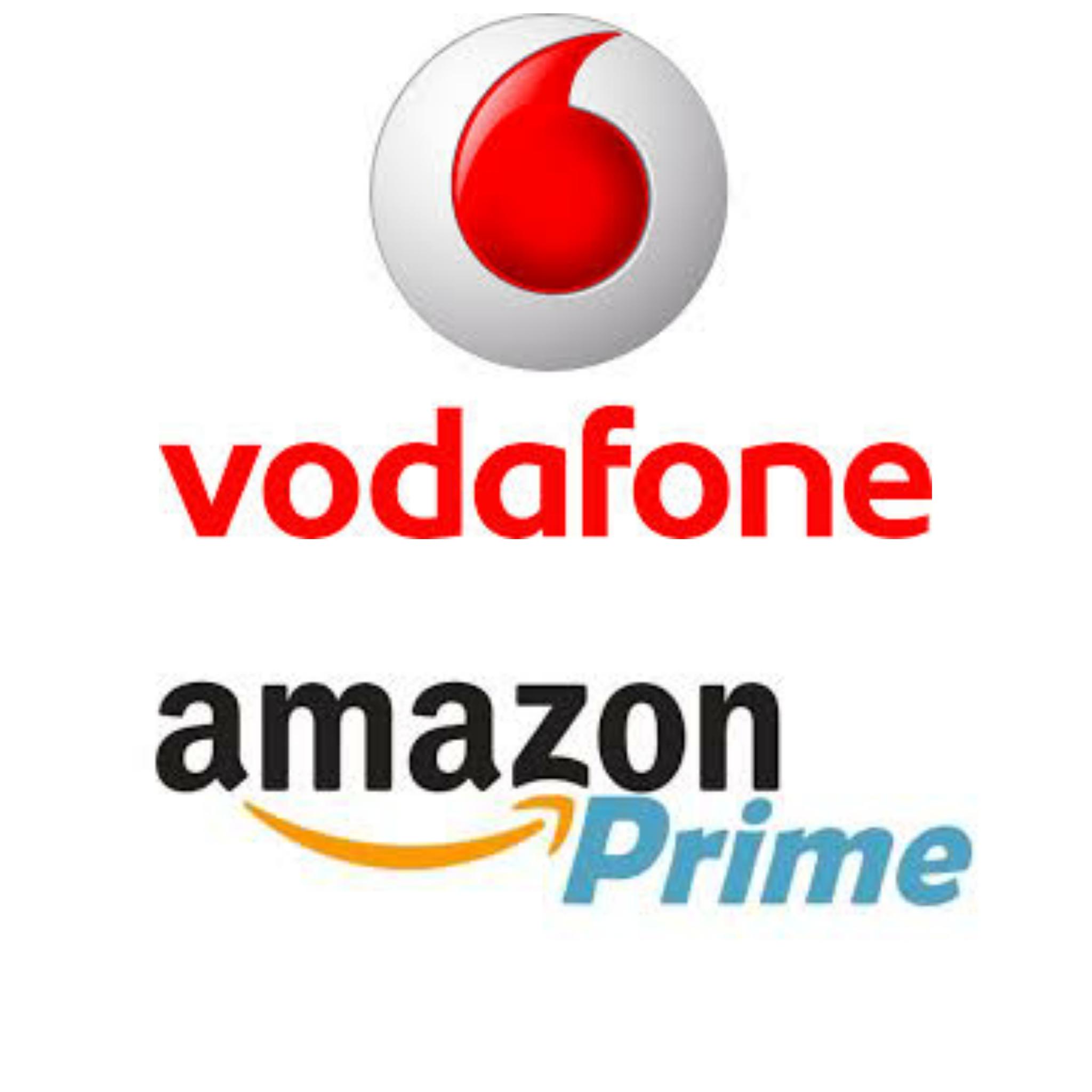 Amazon Prime incluso con Vodafone Happy Black a 1,99€