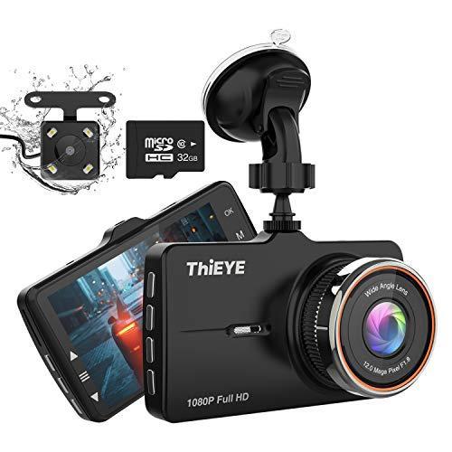 ThiEYE Telecamera per Auto, Dash Cam full hd