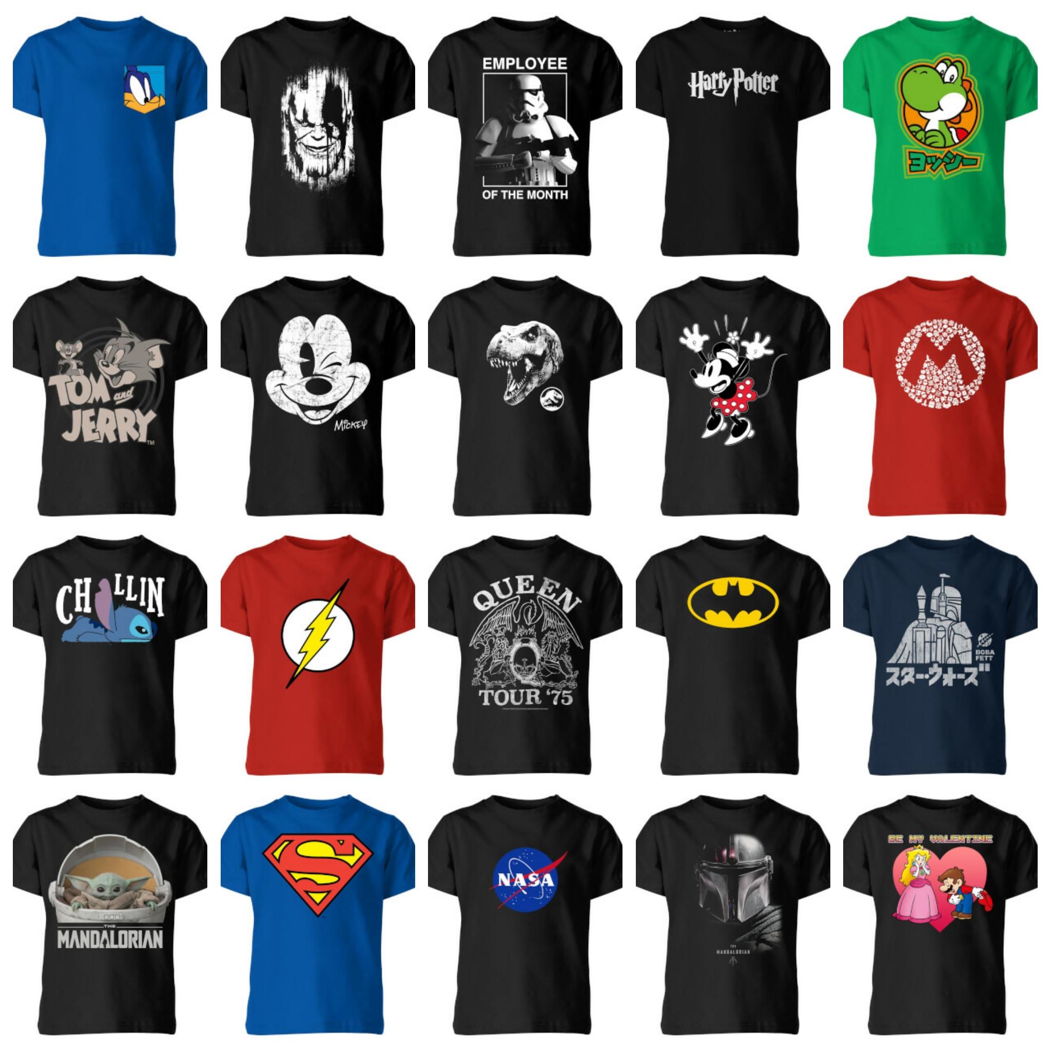 2 T Shirt per bambini