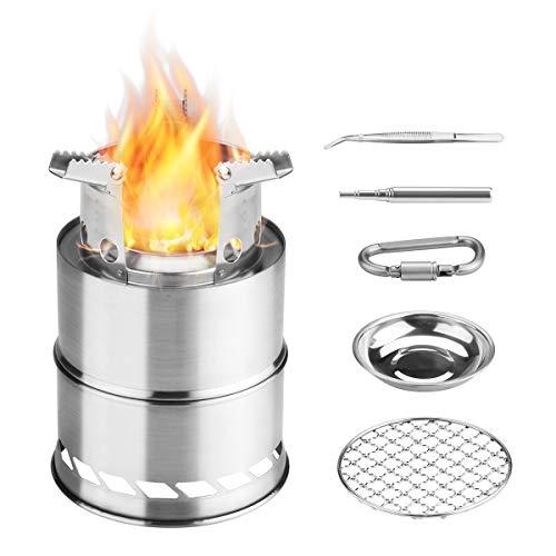 Fornello da Campeggio con Barbecue portatile