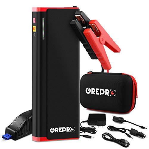 GREPRO Avviatore Batteria Auto (Motori Benzina Fino a 10.0L e Diesel da 7.0L)
