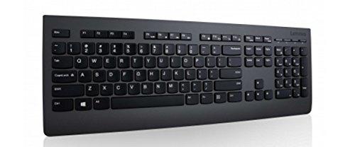 Tastiera WirelessLenovo LED QWERTY Inglese Ricondizionata
