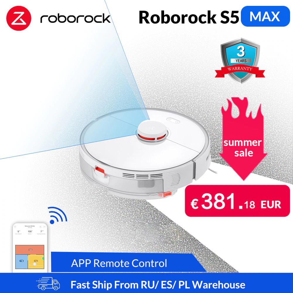 Roborock S5 Max Aspirapolvere Robot