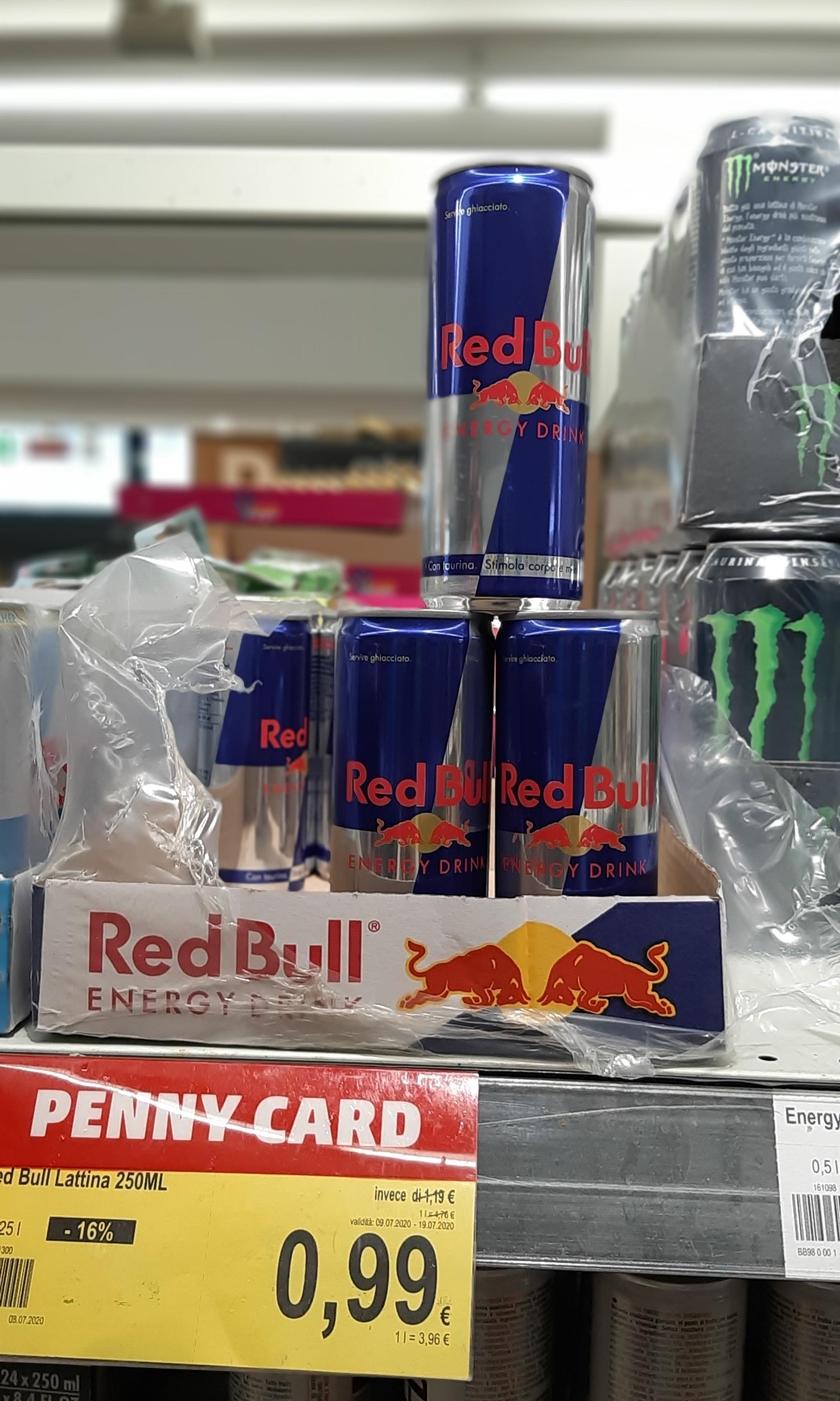 Penny - Red Bull 250 ml 0,99€