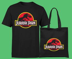 Bundle Jurassic Park BAG e T-SHIRT - Zavvi