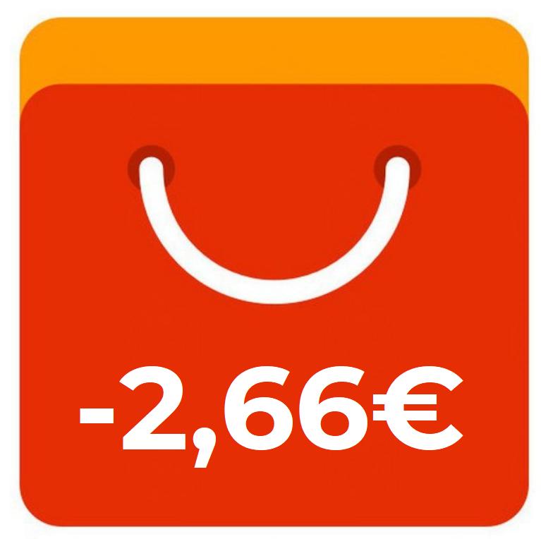 Coupon da 3$ su acquisti di almeno 2,71€ su tutto il sito con l'estensione Aliexpress