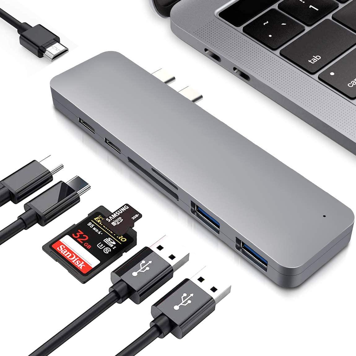 Hub USB 7 in 1 Thunderbolt 3 13.9€