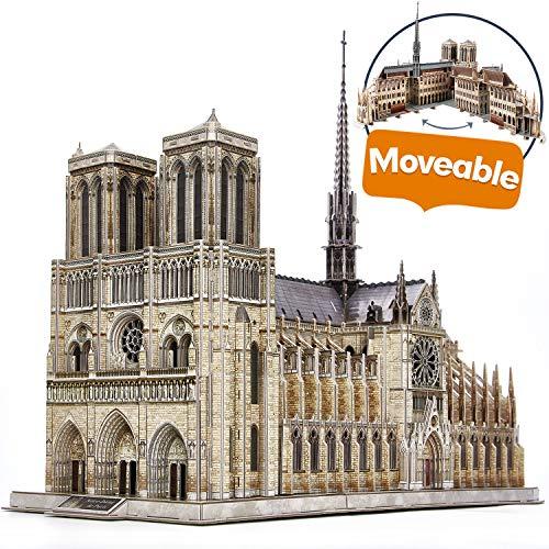 Notre Dame de Paris Puzzle 3D