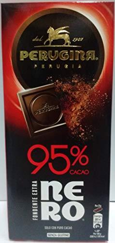 Perugina Nero Tavoletta di Cioccolato Fondente con 95% di Cacao
