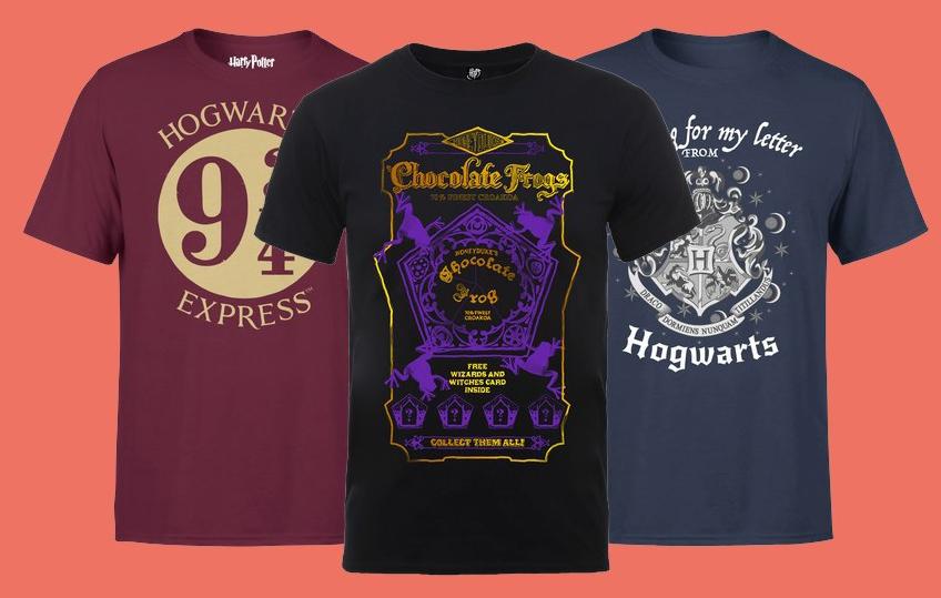 2 T-Shirt Harry Potter con spedizione gratis
