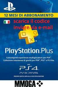 PLAYSTATION PLUS Abbonamento 12 Mesi 365