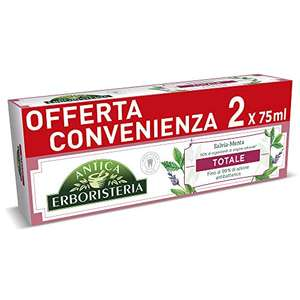 Antica Erboristeria, Dentifricio Totale Antiplacca 2x75ml