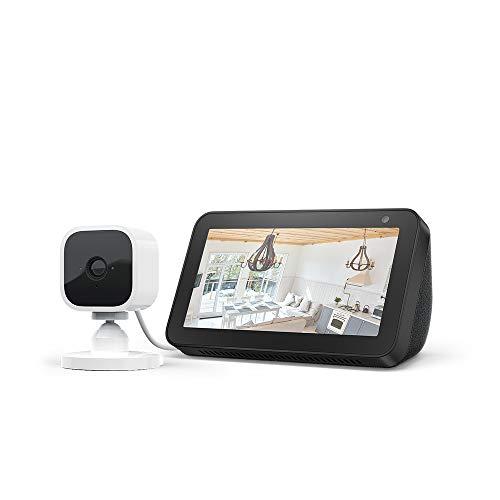 Echo Show 5, Nero + Blink Mini videocamera