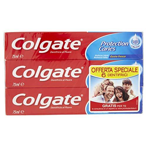 6 dentifrici Colgate