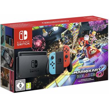 Bundle Nintendo Switch + Mario Kart 8 Deluxe