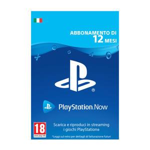 SONY PlayStation Now 12 Mesi - Contenuto digitale disponibile in download