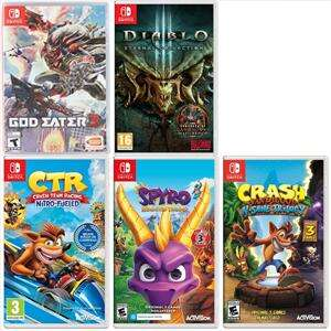 Vari Giochi per Nintendo Switch in sconto