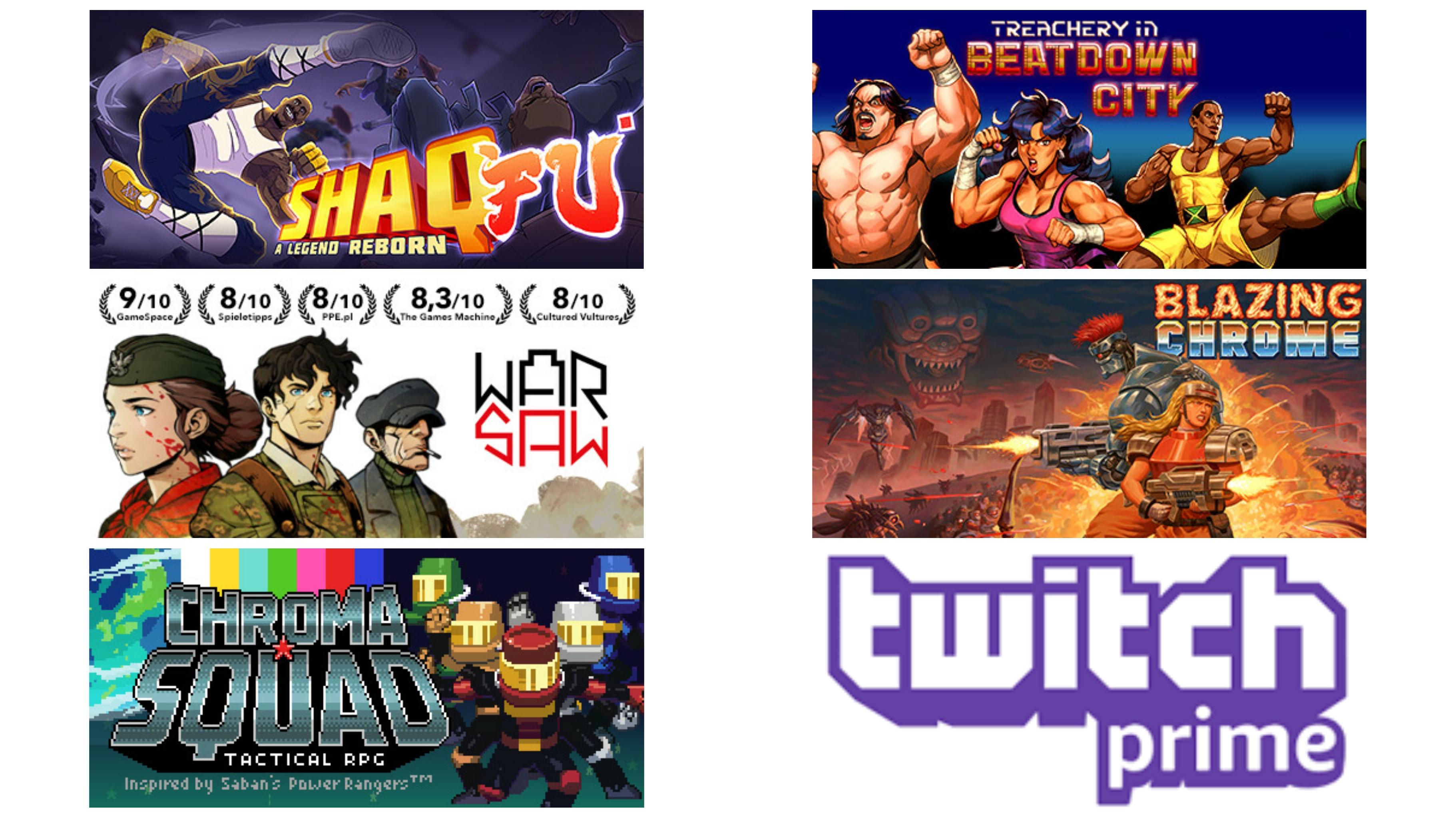 Twitch Prime: Giochi Gratuiti Agosto 2020