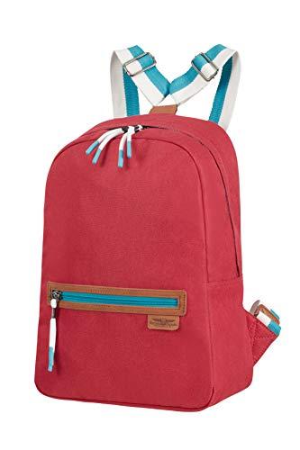 American Tourister Fun Limit - Zaino Lifestyle, Rosso (Cardinal Red)