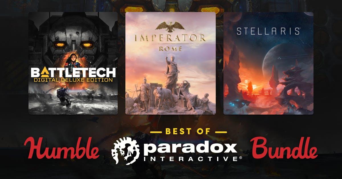 Humble Bundle: il Meglio di Paradox Interactive Bundle