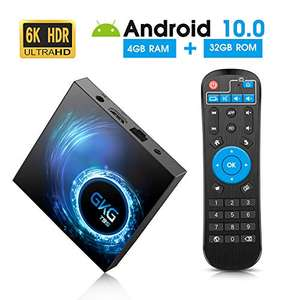 Android TV Box 4GB RAM 32GB ROM Android 10.0