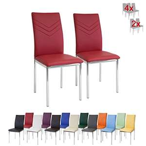 Set di 2 sedie da Pranzo Ricondizionate