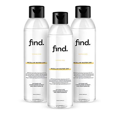 3x FIND - Acqua micellare 400 ml