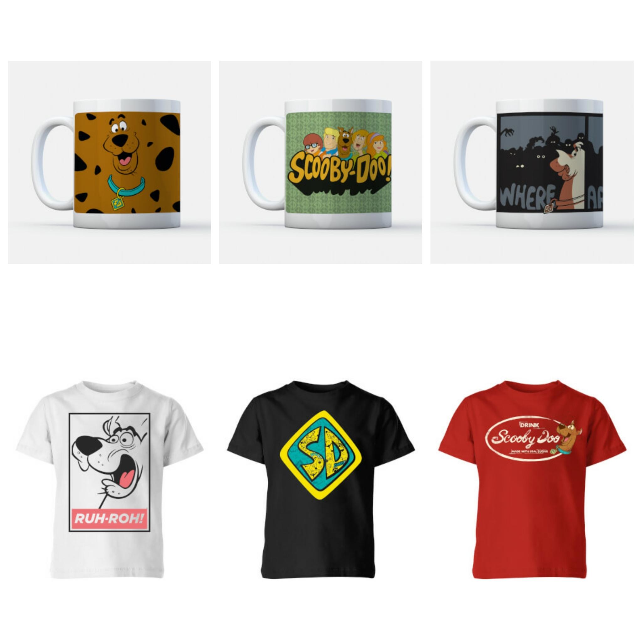 BUNDLE SCOOBY DOO: Tazza + T-Shirt