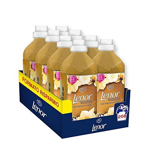 208 lavaggi Lenor Ammorbidente Oro & Fiori di Vaniglia