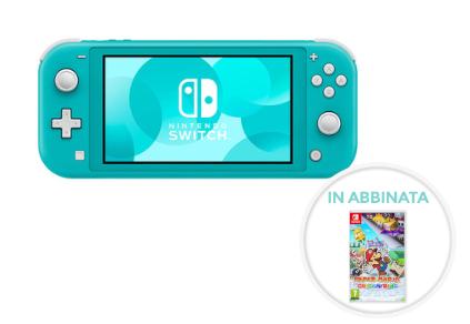 Nintendo Switch Lite +PAPER MARIO THE ORIGAMI KING