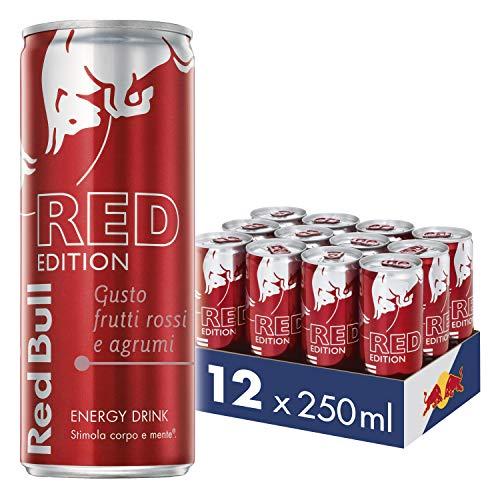 12x Red Bull Energy Drink Gusto Frutti Rossi e Agrumi
