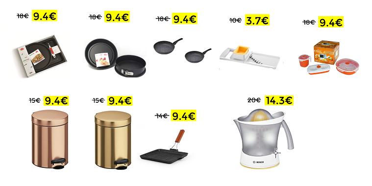 Liquidazione Prodotti per la Cucina da Unieuro