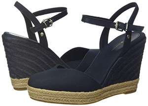 Tommy Hilfiger - Basic Closed Toe High Wedge, Sandali a Punta Chiusa Donna