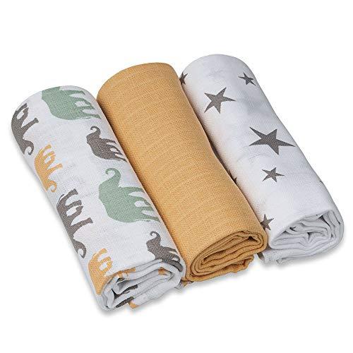 Set di 6 asciugamani da 30 x 30 cm