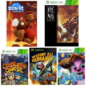 Xbox Gratis: Starlit Adventures,Ikaruga, Costume Quest, Destroy All Humans e Juju
