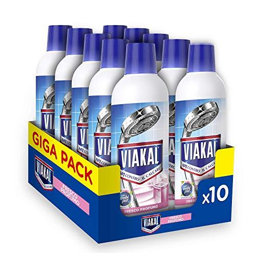 Viakal Detersivo Anticalcare 10 Pezzi da 515 ml