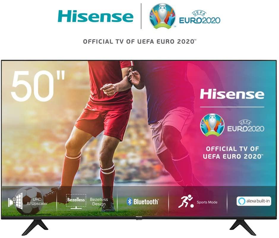 """Smart TV 50"""" Hisense 4K HDR 10+ 379€"""