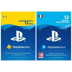 PlayStation Plus e PlayStation Now Annuali