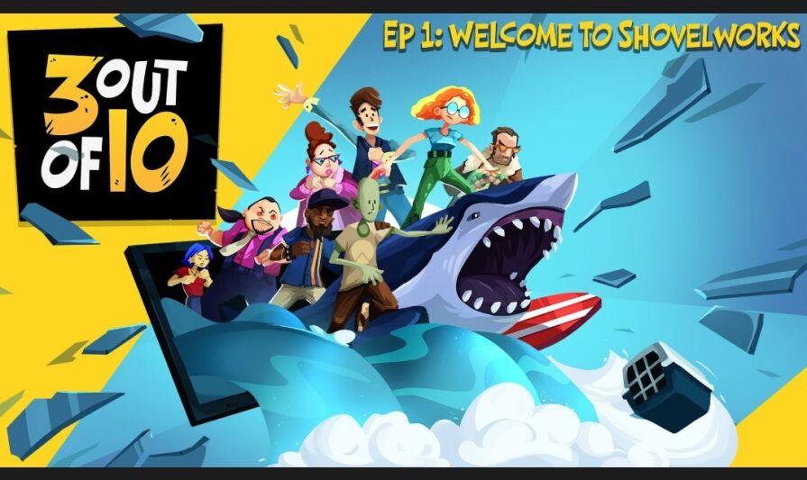 Epic Games: 3 out of 10 [1 episodio a settimana GRATIS]