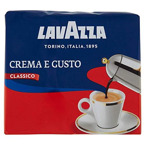 2x250gr Lavazza Caffè Macinato Crema e Gusto Classico