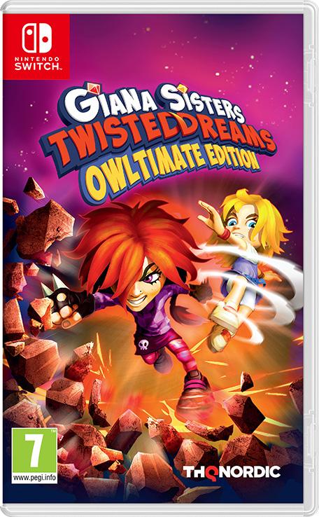 Giana Sisters: Twisted Dreams - Owltimate Edition - Nintendo eShop