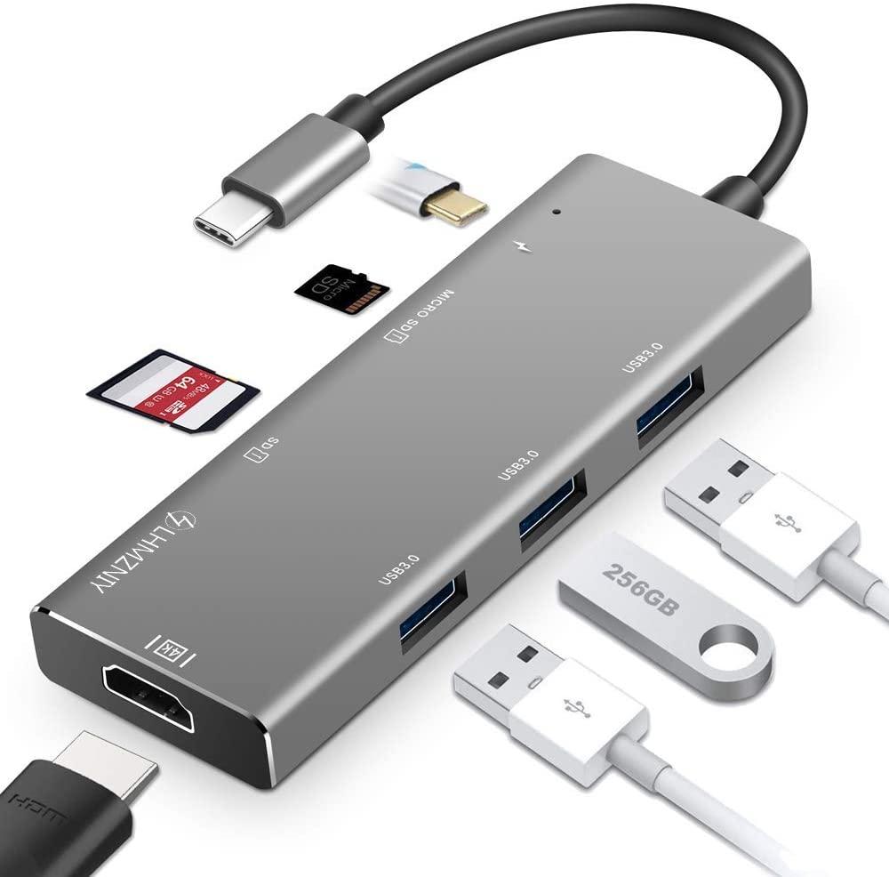 Hub USB C 7 in 1 - 100W 11.5€