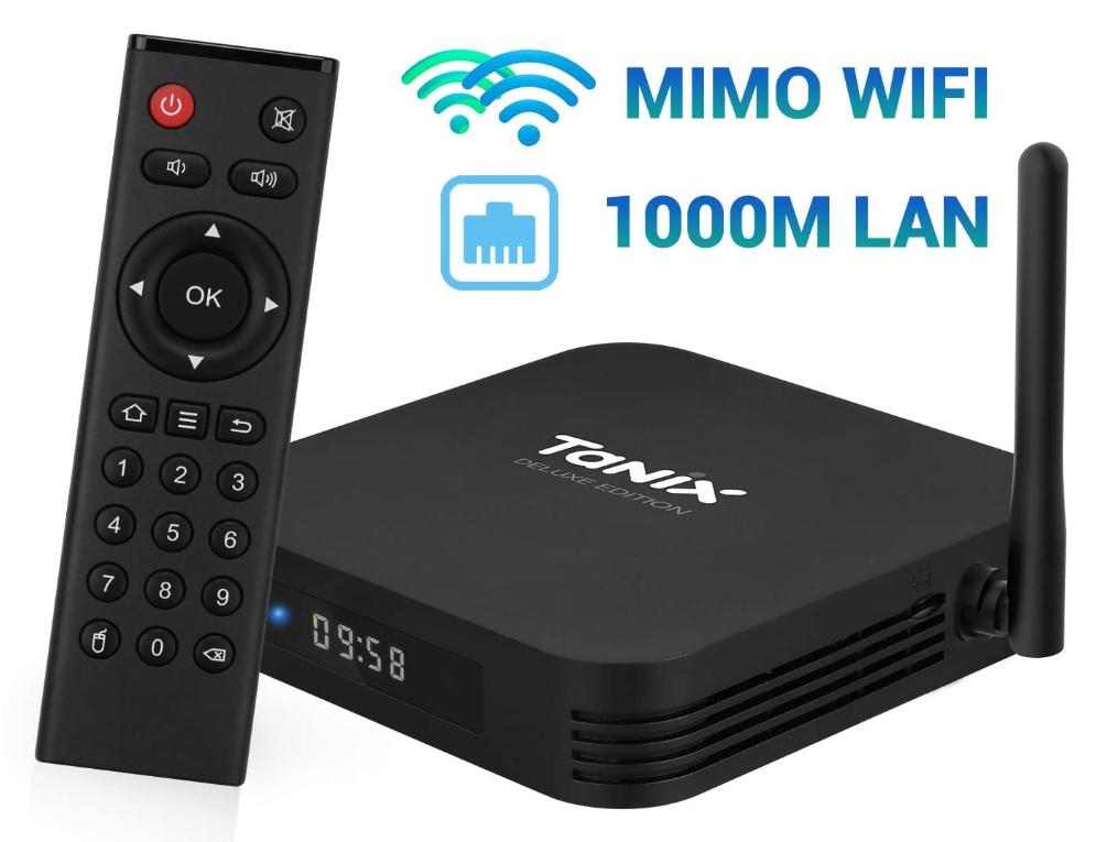 TV Box Tanix 4GB 64GB 29.9€